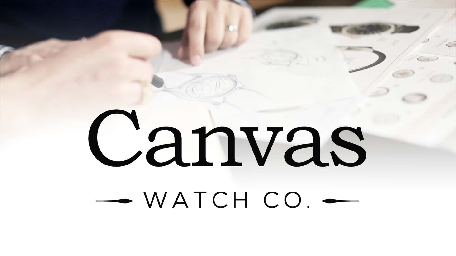 Kickstarter Video for Canvas Watch Company